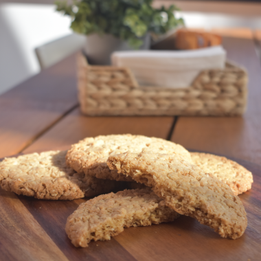 Aus Vi Bakery's Anzac biscuits