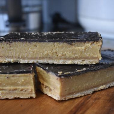 Caramel Slice At Aus Vi Bakery