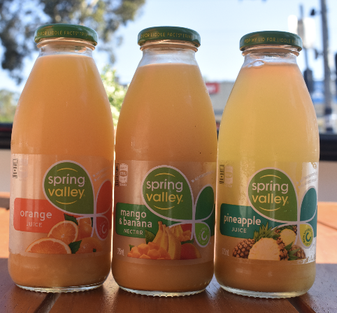 Spring Valley Juice 2 - Picture by Aus Vi Bakery