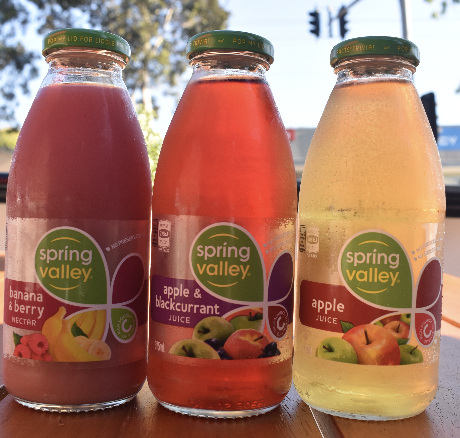 Spring Valley Juice - Picture by Aus Vi Bakery