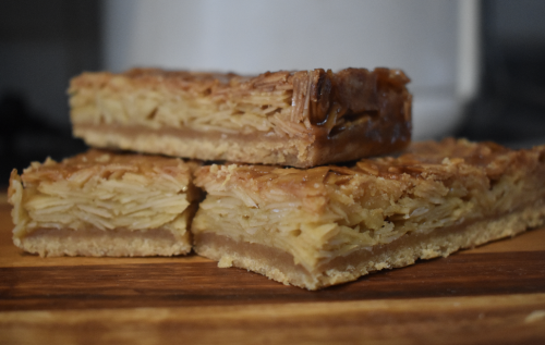 Almond Slice At Aus Vi Bakery
